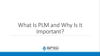 What Is PLM and Why It's Important