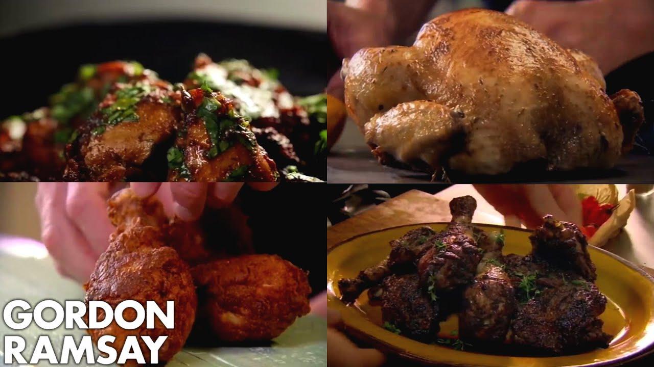 Gordon Ramsay S Top 5 Chicken Recipes Youtube