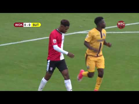 Woking 2 - 0 Sutton United (Match Highlights)