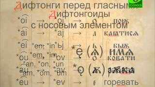 Происхождение славянских гласных
