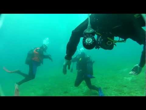 Scuba Dive @ Greece 29-4-2012 [raw footage]