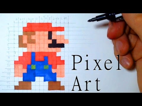 Le Pixel Art Mario