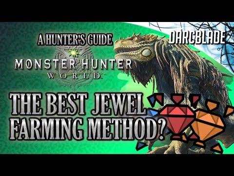 The Best Jewel Farming Method? : Monster Hunter World thumbnail