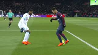This is what NEYMAR did during the WHOLE GAME vs Marseille