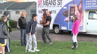 Massachusetts Dog Obedience Training With Dave Skoletsky And Yeager