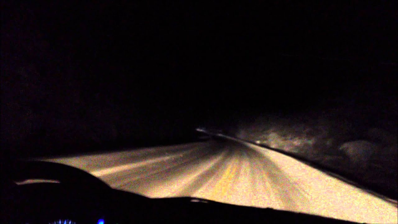 driving in dark winter night in finland youtube
