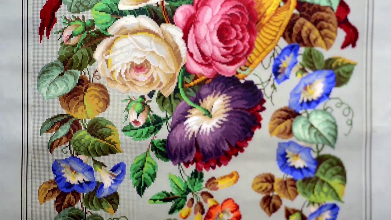 Выставка старинных схем для вышивания «Волшебство узора» в музее-усадьбе «Архангельское»