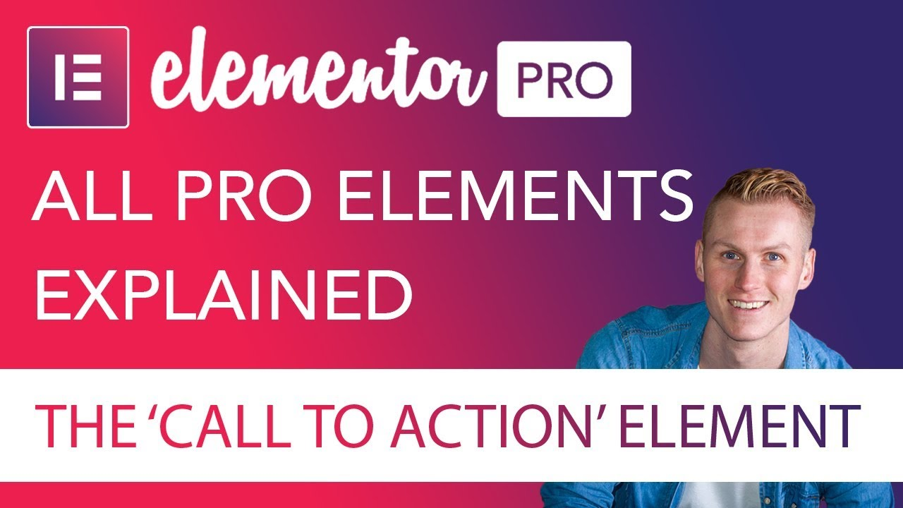 Call To Action Element Tutorial | Elementor Pro