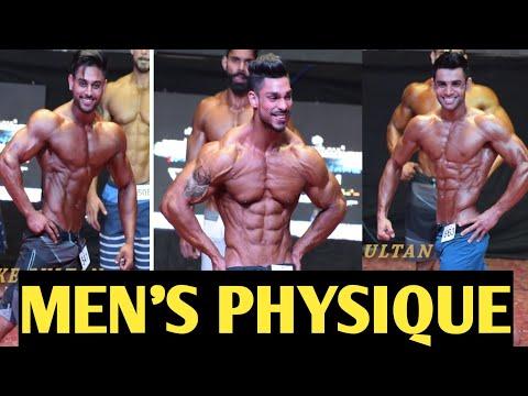 Men's Physique Posing