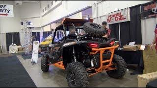 polaris rzr 1000xp spare tire carrier install tutorial powermodz