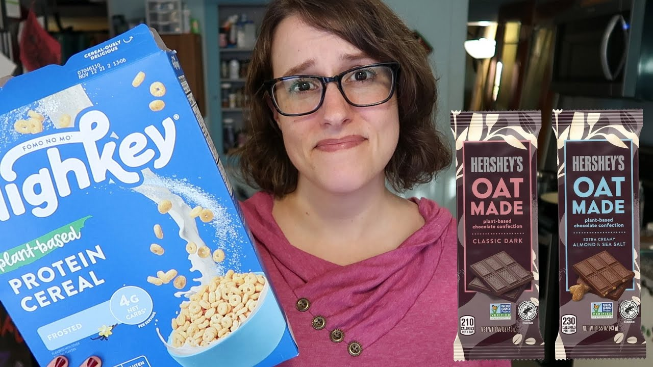 *NEW* Hershey's Vegan Chocolate & The Worst Cereal (14 more awesome & awful vegan products)