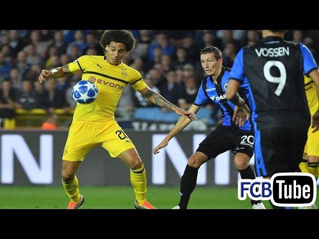 2018-2019 - Champions League - 01. Groep A Match 1 - Club Brugge - Borussia Dortmund 0-1