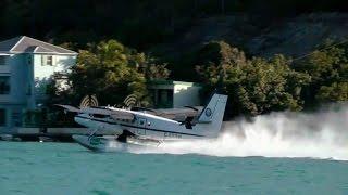 Seaborne Seaplane flight from St. Thomas to Sct. Croix