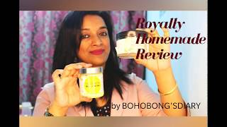 You tube Royally Homemade I am Sharing my personal review for two products that I have hauled from Royally Homemade that has completely made my life ...