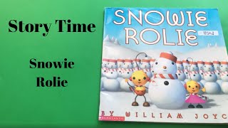 Snowie Rolie//Rolie Polie Olie//Christmas Book