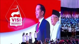 Gambar cover Joko Widodo begins  second term as president of Indonesia