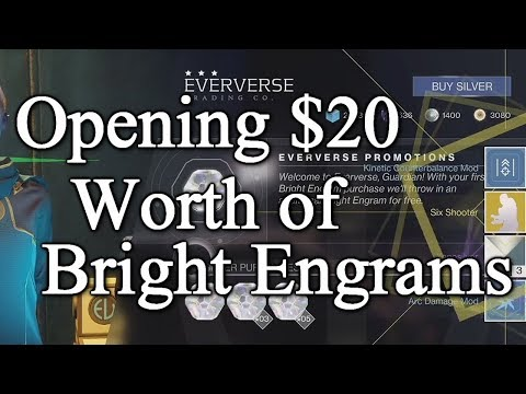 20 Dollar Bright Engram Opening