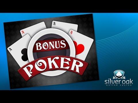 Watch Bonus Poker Video From Silver Oak Casino