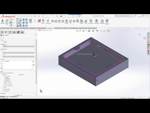 3D Model Gouge Protection
