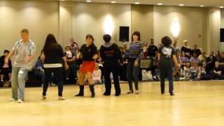 Coolio Line Dance Demo @ Windy City 2013