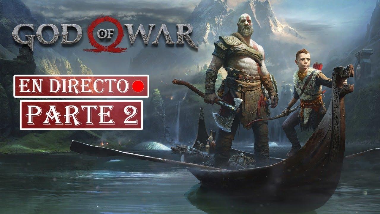 Caminado por el Midgar | God of War | En directo Parte 2