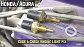 Honda Accord Coolant Temperature Sensor Replacement - YouTube