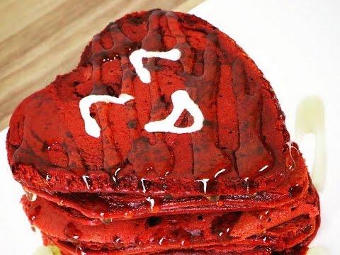 pancakes-red-velvet-saint-valentin