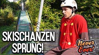 Never Ever springt Chris von einer SKISCHANZE! | Max und Chris