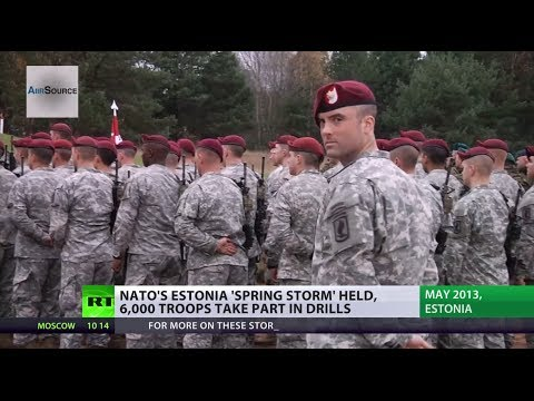 'Spring Storm': NATO masses troops, hardware in Baltics to stage huge wargames
