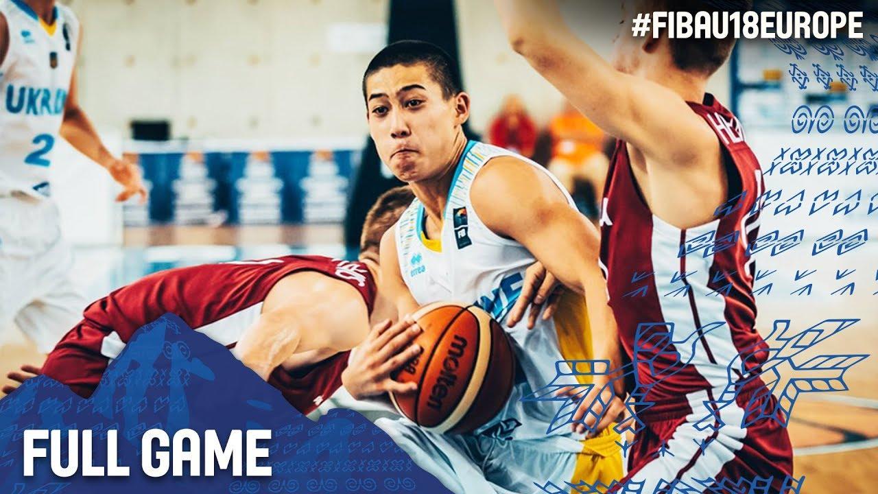 Ukraine v Latvia - Full Game - Classification 9-16 - FIBA U18 European Championship 2017