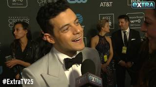 Rami Malek on His Chat with Nicole Kidman After Gone-Viral Golden Globe Moment