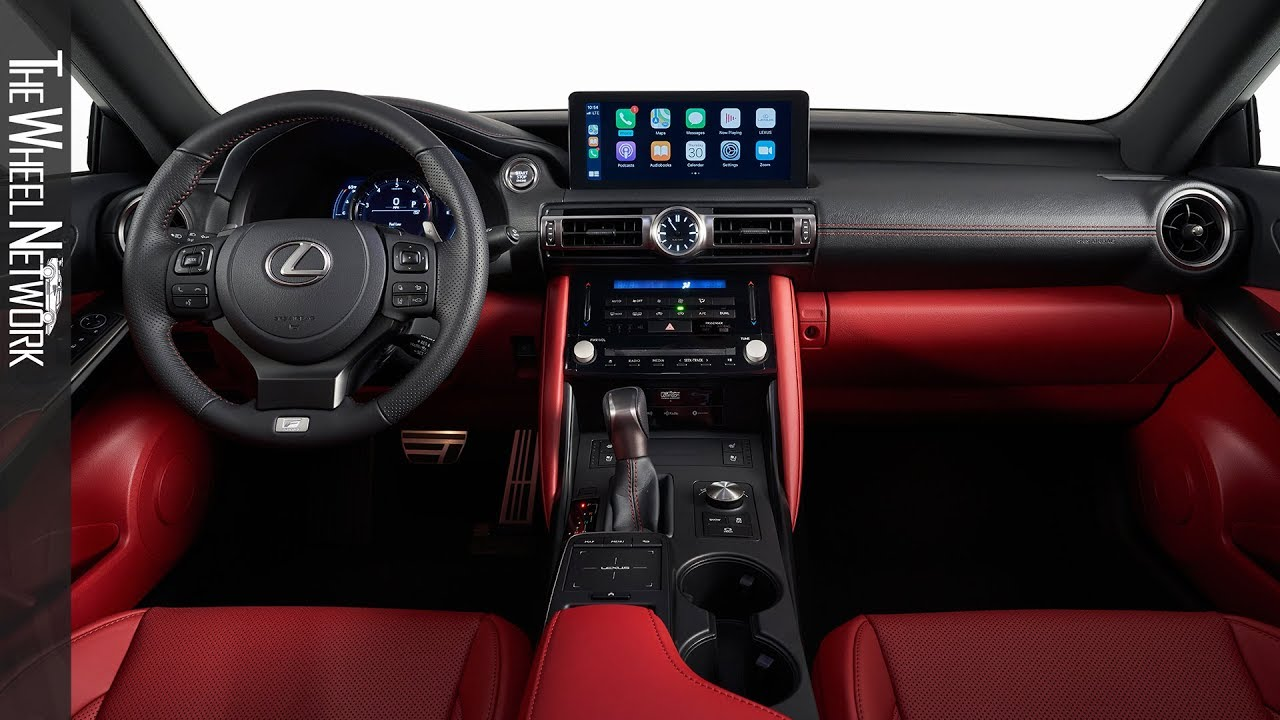 2021 Lexus IS Interior (F Sport) - YouTube