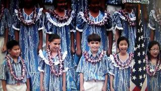Download Kris Allen Sings National Anthem in Hawaii at Pro Bowl 1-30-2011.MP4 MP3 song and Music Video