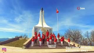 Öğrenciler'den muhteşem İstiklal Marşı