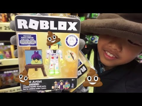 NEW ROBLOX TOYS SERIES 3 TOY HUNTING FOR CELEBRITY GOLD SERIES WALMART EXCLUSIVE!