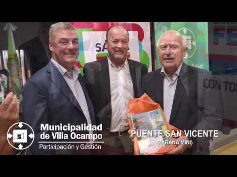 Municipalidad de Villa Ocampo - Punte San Vicente (Paraná Miní)