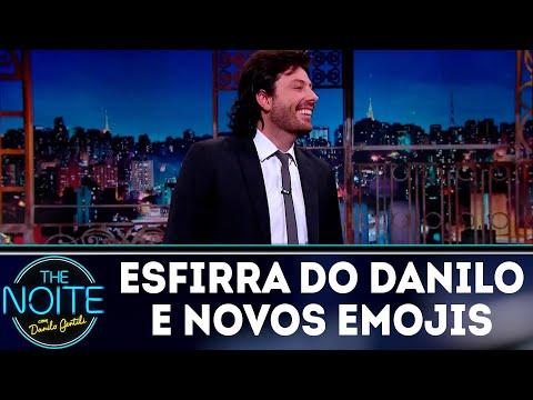 Monólogo: A esfirra do Danilo e os novos emojis | The Noite (25/07/18)