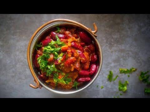 recette-de-haricots-rouges-à-l'indienne-(rajma)-₪-pankaj-sharma