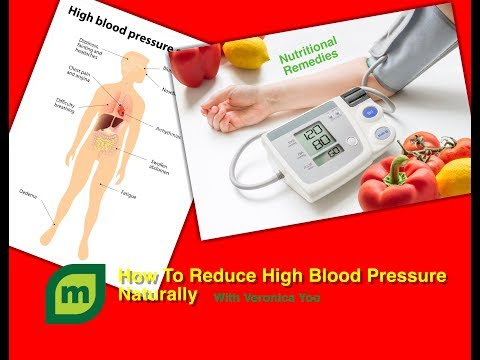 How To Reduce High Blood Pressure (Hypertension) NATURALLY