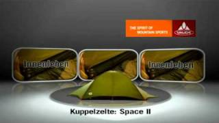 VAUDE - Set up Video for the Space II tent