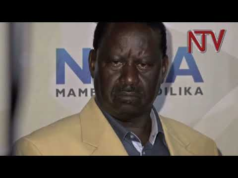 Kenya general election: NASA coalition wants Raila declared President.