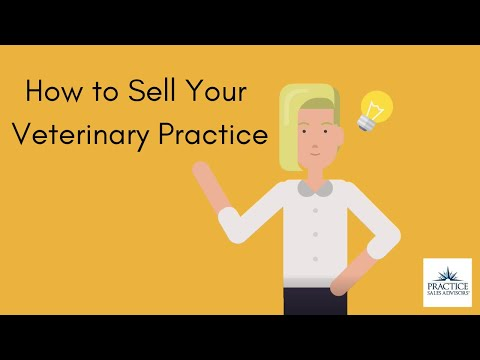 Sell Your Veterinary Practice, the Easy Way