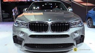 2015 BMW X5 M - Exterior and Interior Walkaround - Debut at 2014 LA Auto Show