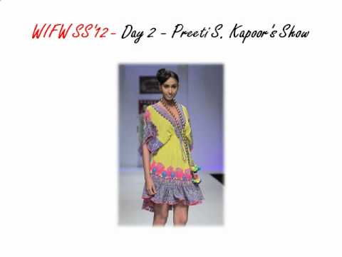 Wills Lifestyle India Fashion Week - Spring Summer 2011 - Day 2 - Preeti S. Kapoor's Show