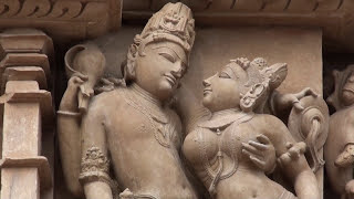 Эротическая скульптура Кхаджурахо. Индия.