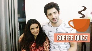 Coffee With Glitz Vision Episode 1 | Sidhant Gupta & Jasmin Bhasin