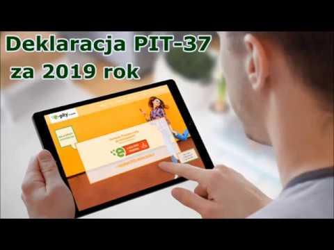 2020. ПИТ-37 через интернет/PIT-37 Przez E-pity