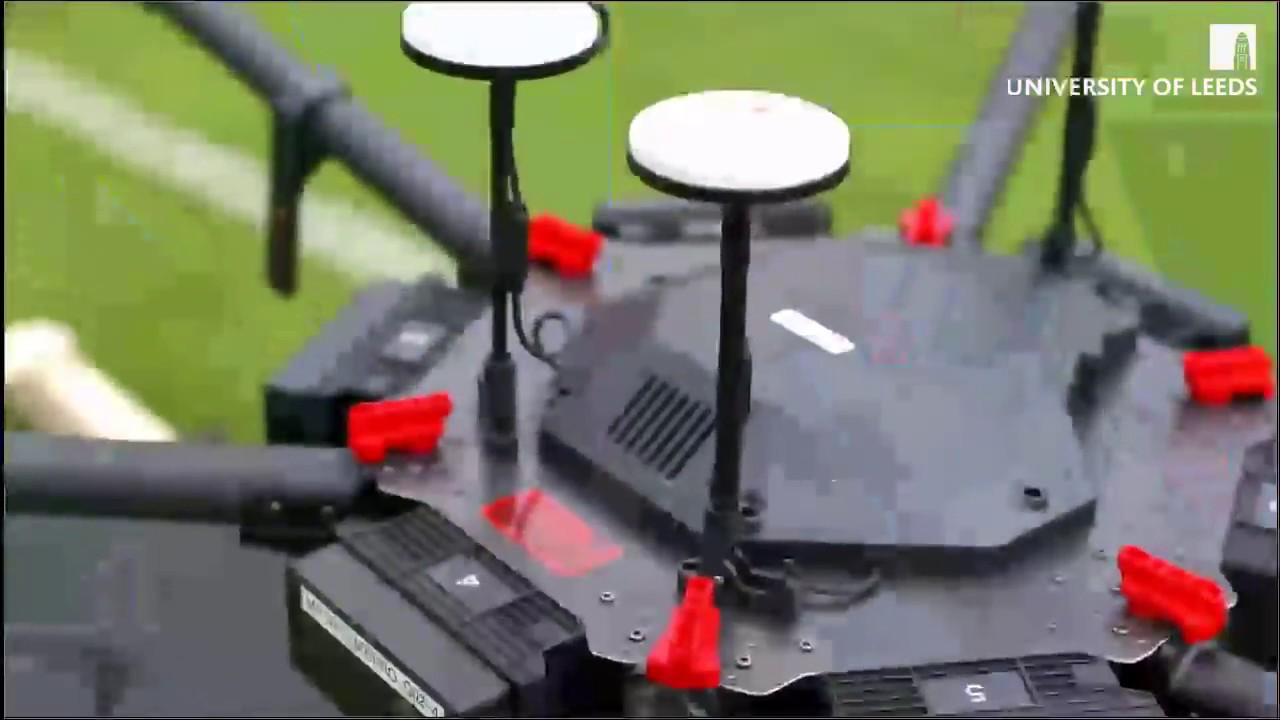Using Drones To Repair Roads With 3d Printing Demonstration Youtube