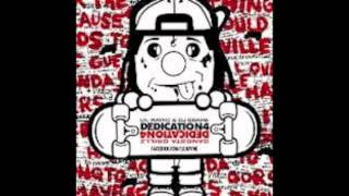 Lil Wayne - No Worries instrumental (with hooks) Dedication 4