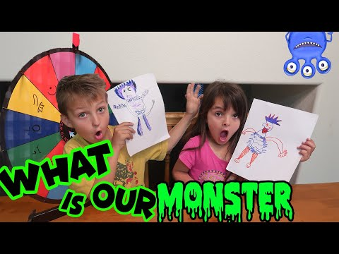 3 MARKER MYSTERY WHEEL | What does the monster look like?